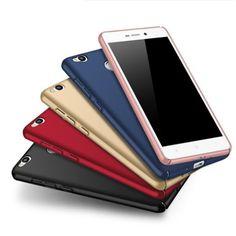"""럭셔리 silm msvii 브랜드 xiaomi redmi 3 s 케이스 실리콘 스크럽 커버 xiaomi redmi 3 s 전화 case redmi 3 pro 케이스 5.0"""""""