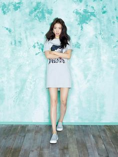 Park Shin Hye for Viki S/S 2015 Primavera Verano  #photoshoot #sesiondefotos