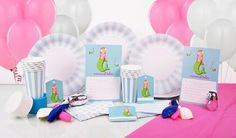 Mermaid Deluxe Party in the Box  $59.95 caters for 12 guests