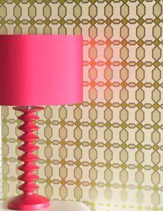 Geometric - retro - modern - wallpaper - color combo