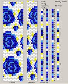 Узоры для вязаных жгутиков-шнуриков 8 | biser.info - всё о бисере и бисерном творчестве