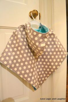 Logic and Laughter: Reversible Poncho / Cape Tutorial