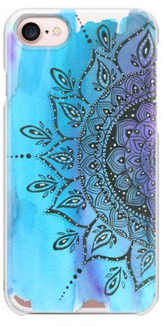 Casetify iPhone 7 Snap Case - Blue by Li Zamperini Art