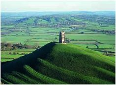 The Famous Glastonbury Tor Central Somerset UK. Steeped in History & Myth Glastonbury Tor is a hill near Glastonbury in the coun. Glastonbury England, Glastonbury Somerset, Glastonbury Tor, The Places Youll Go, Places To See, Joseph Of Arimathea, Kirchen, British Isles, Terra