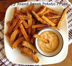 Crispy-Baked Sweet Potato Fries Recipe