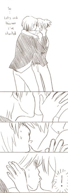 I do doodles — I've seen the 5 rankings of 3-E best kisser and...