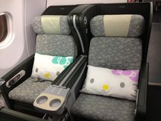 Eva Air Hello Kitty Business class @ Paul Tarr