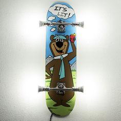 Timeless Pieces of Functional Art. Skateboard Light, The Originals, Painting, Vintage, Painting Art, Paintings, Vintage Comics, Painted Canvas, Drawings