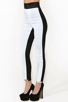 two tone pants