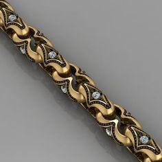 print model bracelet chain bracelet bracelets chain gold, available in STL, ready for animation and other projects Mens Gold Bracelets, Gold Link Bracelet, Bangle Bracelets, Bijoux Design, Jewelry Design, Egypt Jewelry, Gold Chains For Men, Luxury Jewelry, 3d Printing