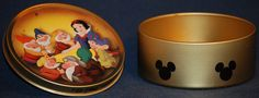 Snow White candy tin from the 80s.