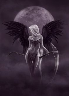 Fairy Art, Fantasy Art, Poster and Prints Gallery, Clothing, Gifts and Accessories from fairy artist Selina Fenech Dark Gothic Art, Gothic Fantasy Art, Fantasy Art Women, Fantasy Kunst, Gothic Angel, Gothic Fairy, Demon Art, Angel Artwork, Fairy Drawings