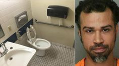 Lakeland, Florida police say 35-year-old Samuel Alicea used their office's bathroom to inject heroin and allegedly found his paraphernalia in the sink.
