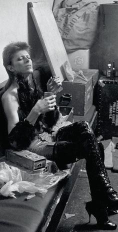 Bowie as Ziggy