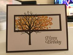 September Card Class 2016 Sheltering Tree Stamp Set I Card, Card Ideas, September, Happy Birthday, Stamp, Decor, Happy Brithday, Decoration, Urari La Multi Ani