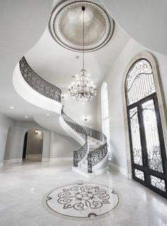 White stairs - hall