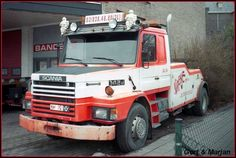 SCANIA  - TOW TRUCK