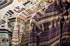 Native American patterns ... I really like these patterns in shorts, short shirts or skirts ... super duper cute!