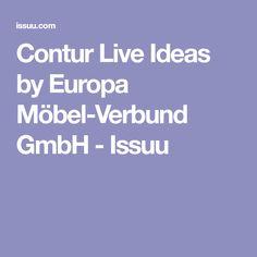 Contur Live Ideas by Europa Möbel-Verbund GmbH - Issuu
