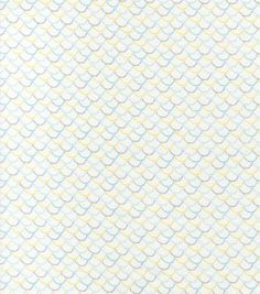 Nursery Fabric-Feathery Dots Flannel, , hi-res