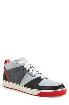 Men's Lanvin Mid Top Sneaker