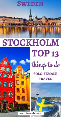 3 Days in Stockholm - Sweden Solo Female Travel- Things to do in Stockholm