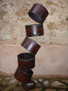 Equilibrio 2 - Artesania en hierro, escultor Sóller, Mallorca. Arte y obras en hierro. Art en ferro