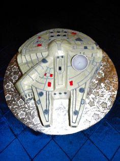 Stars Wars grooms cake