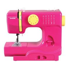 Janome Janome Portable Easy-to-Use 5-Pound Mechanical Sewing Machine Color: