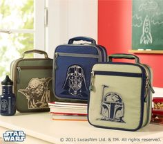 Cool Star Wars Line At Pottery Barn Kids I Would Dump My O Kitty Lunch Bag In A Second Geeky Chef