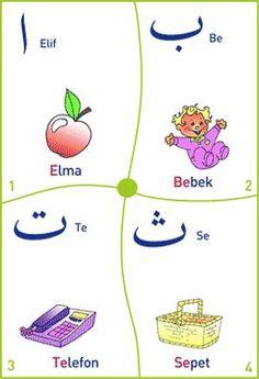 Dinibilgiler.gen.tr - Alfabe (Resimli)