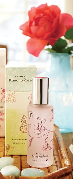 Pin-It-To-Win-It: Thymes Kimono Rose Cologne - happened upon this lovely fragrance and I truly have fallen in LOVE!