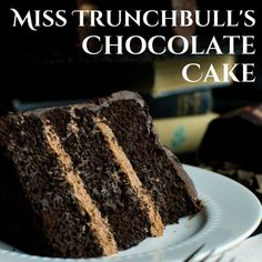 """The cake from """"Matilda"""" that we all swooned over! Like The Trunchbull, I'm sure you'll agree that this is """"the most scrumptious cake in the entire world."""" One of my favorite movies of all-time isMatilda. I remember when it was..."""