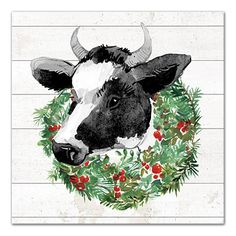 Are you looking for ideas for christmas quotes?Browse around this site for unique Xmas inspiration.May the season bring you serenity. Christmas Animals, Christmas Art, Christmas Wreaths, Christmas Quotes, Xmas, Cow Wallpaper, Cow Clipart, Christmas Phone Wallpaper, Cow Pictures