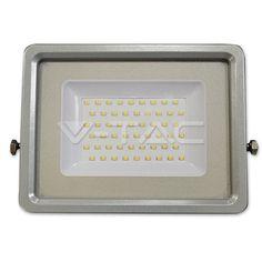 31,78€ 50W Proiettore LED Corpo Nero/Grigio SMD 3000K  SKU: 5762 | VT: VT-4850-1  50W Proiettore LED Corpo Nero/Grigio SMD 4500K  SKU: 5763 | VT: VT-4850-1  50W Proiettore LED Corpo Nero/Grigio SMD 6000K  SKU: 5764 | VT: VT-4850-1