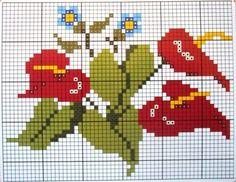 Blog de betart :BetArt Artesanatos, Gráfico flores