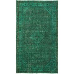 "6'8"" x 11'9"" Color Transition Rug In Aqua"