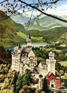 Been in Love with this castle since I can remember. German Architecture, Cathedral Architecture, Beautiful Castles, Beautiful Places, Places To Travel, Places To See, Family World, Germany Castles, Neuschwanstein Castle