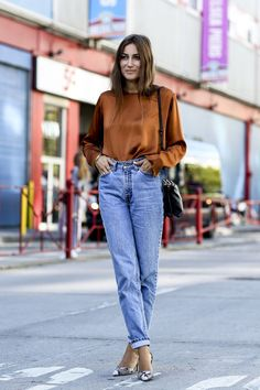 stellawantstodie: Tuesday´s inspo : high waisted jeans