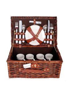 #Picknickkorb für 4 Personen.