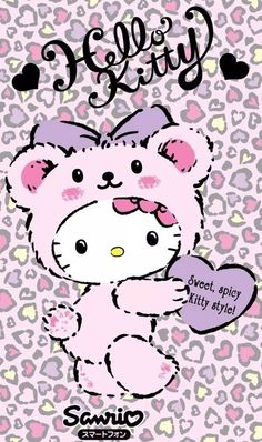 Image in Hello kitty collection by ป่านแก้ว on We Heart It Hello Kitty Desenho, Hello Kitty Fotos, Hello Kitty Themes, Hello Kitty Pictures, Sanrio Wallpaper, Hello Kitty Wallpaper, Kawaii Wallpaper, Hello Kitty Backgrounds, Sanrio Hello Kitty
