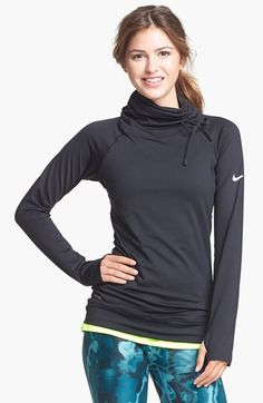 Nike  Pro Hyperwarm  Training Top available at  Nordstrom medium c82081147cc