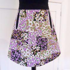 Vintage Fabric  Doris Apron 70s patchwork £15.00