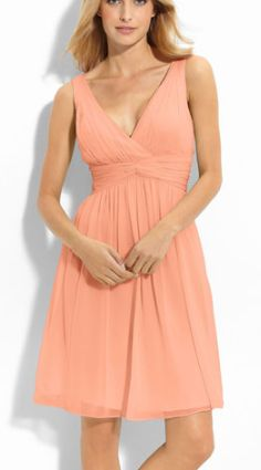 Pretty in peach @Nordstrom