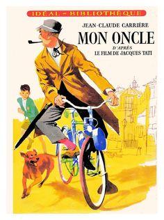 Poster for Jacques Tati's film Mon Oncle.