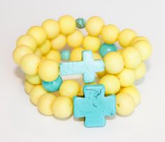 canary turquoise stack