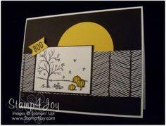 Happy Scenes Halloween Card - blog.Stamp4Joy.com