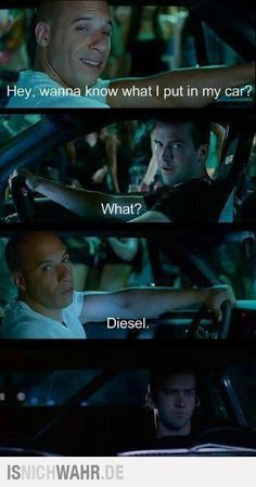 DIESEL!