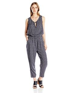 Lucky Brand Women's Printed Jumpsuit