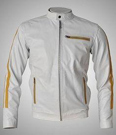 Cafe Racer Leather Jacket, Leather Jackets, Nike Jacket, Motorcycle Jacket, Indian, Amazon, Stuff To Buy, Men, Clothes